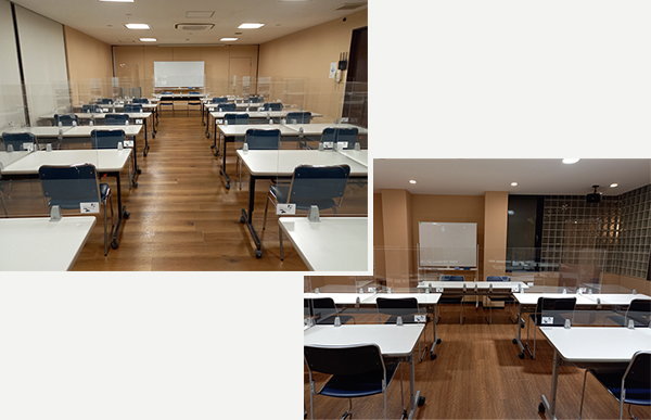 Large Conference Room & Medium Conference Room